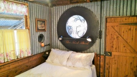 The Toolshed - Bedroom
